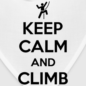 Keep calm and climb T-Shirts - Bandana