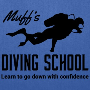 Muff's Diving School. Go down with confidence T-Shirts - Tote Bag