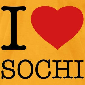 I LOVE SOCHI - Men's T-Shirt by American Apparel