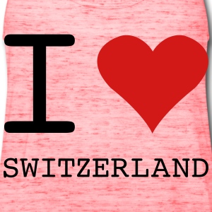 I LOVE SWITZERLAND - Women's Flowy Tank Top by Bella