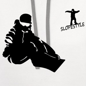 slopestyle T-Shirts - Contrast Hoodie