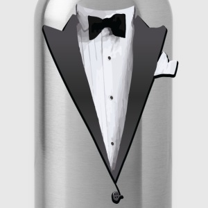 Tuxedo Jacket Costume T-shirt Hoodies - Water Bottle