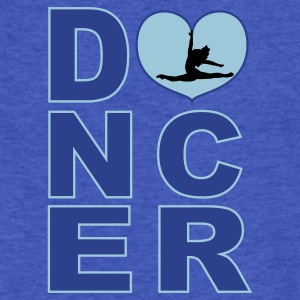 dancer silhouette Sweatshirts - Fitted Cotton/Poly T-Shirt by Next Level