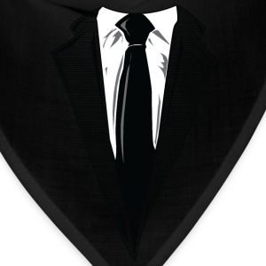 Coat and Tie and Suit and Tie t-shirts T-Shirts - Bandana