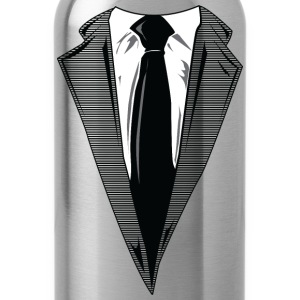Coat and Tie and Suit and Tie t-shirts T-Shirts - Water Bottle