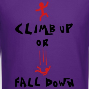 climb up Women's T-Shirts - Crewneck Sweatshirt