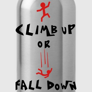 climb up Women's T-Shirts - Water Bottle