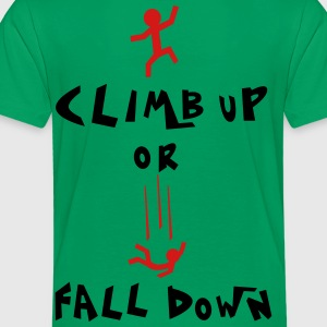 climb up Kids' Shirts - Toddler Premium T-Shirt