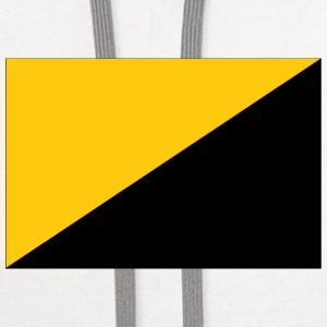 anarcho-capitalist flag - Contrast Hoodie