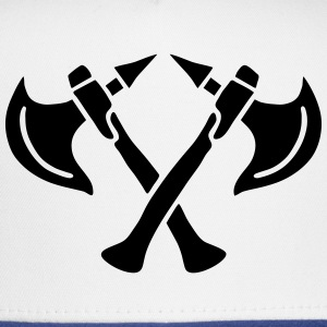 brave warrior gladiator axe tomahawk knights fight T-Shirts - Trucker Cap