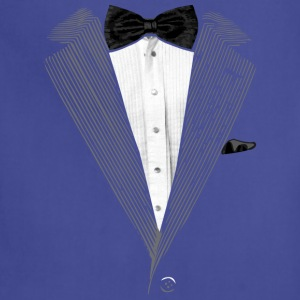 Realistic Tuxedo bow tie and sear sucker T-Shirts - Adjustable Apron