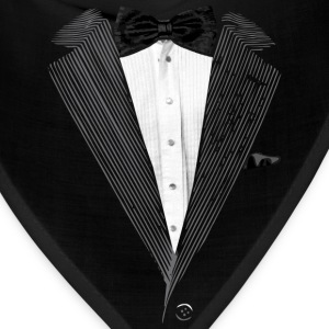 Realistic Tuxedo bow tie and sear sucker T-Shirts - Bandana