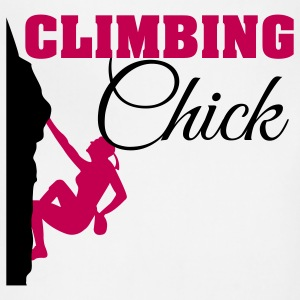 Climbing Chick Women's T-Shirts - Adjustable Apron