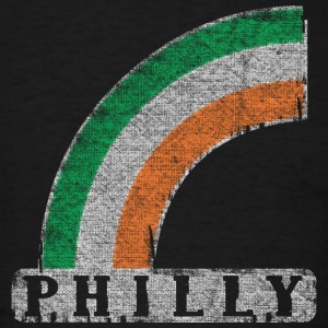 Philly Irish Rainbow  Hoodies - Men's T-Shirt