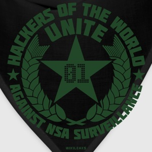 Hackers of the world T-Shirts - Bandana