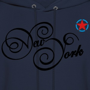 new york T-Shirts - Men's Hoodie