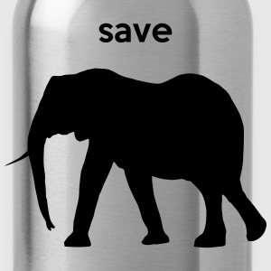 save elephants T-Shirts - Water Bottle