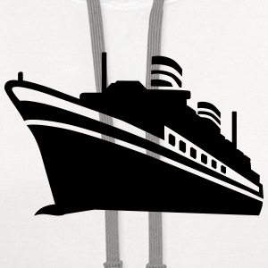 Cruise ship T-Shirts - Contrast Hoodie
