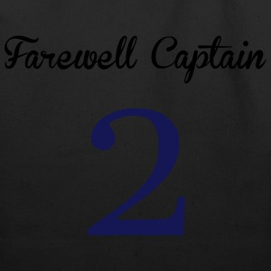 Farewell Captain T-Shirts - Eco-Friendly Cotton Tote