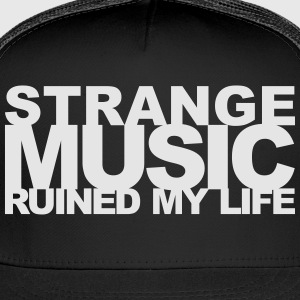 STRANGE MUSIC T-Shirts - Trucker Cap