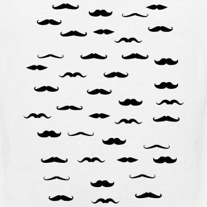 moustache T-Shirts - Men's Premium Tank