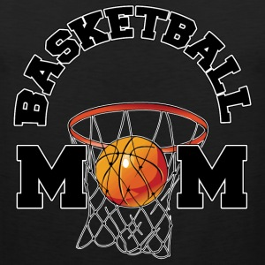 Basketball Mom Dark T-Shirt - Men's Premium Tank