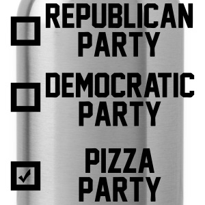 Pizza Party T-Shirts - Water Bottle