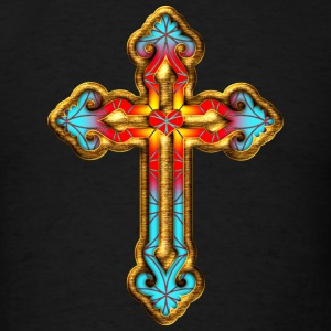 Cross Christian Church Jesus God Religious Belief Hoodies - Men's T-Shirt