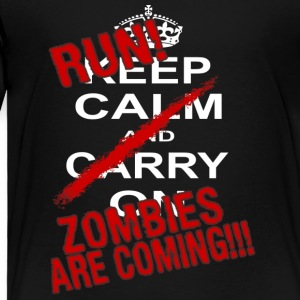 Zombie Run - Toddler Premium T-Shirt