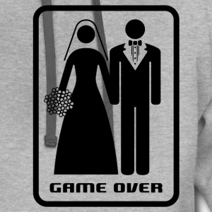 GAME OVER (HATE MARRIAGE) - Contrast Hoodie