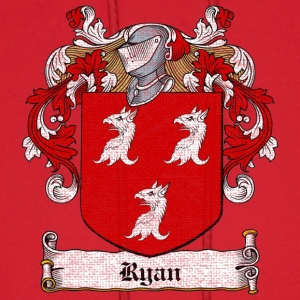 Ryan Family Crest T-Shirts - Men's Hoodie