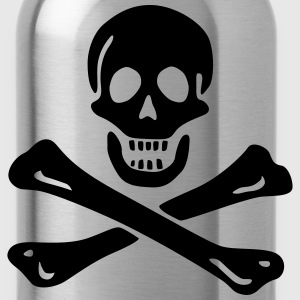 Jolly roger Pirate flag T-Shirts - Water Bottle