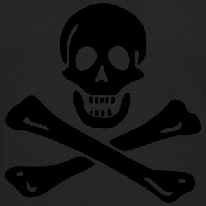 Jolly roger Pirate flag T-Shirts - Men's Premium Long Sleeve T-Shirt