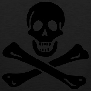 Jolly roger Pirate flag Hoodies - Men's Premium Tank