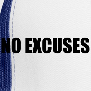 No Excuses Gym Hoodie - Trucker Cap