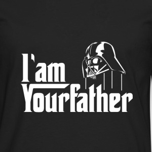 SKYF-01-030 Darth Vader iam your father T-Shirts - Men's Premium Long Sleeve T-Shirt
