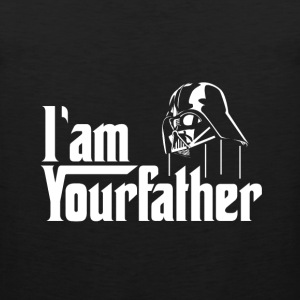 SKYF-01-030 Darth Vader iam your father T-Shirts - Men's Premium Tank