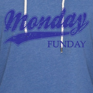 monday funday Long Sleeve Shirts - Unisex Lightweight Terry Hoodie