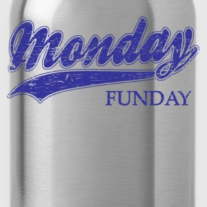monday funday Long Sleeve Shirts - Water Bottle