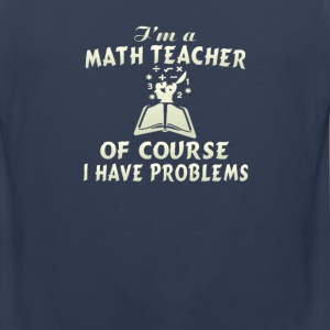 Math Teacher - Men's Premium Tank