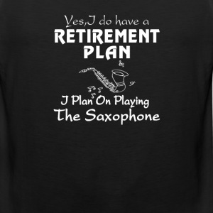 I Plan On Playing The Saxophone - Men's Premium Tank