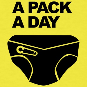 A Pack a Day - Men's T-Shirt