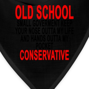 old_school_conservative_tshirt_ - Bandana