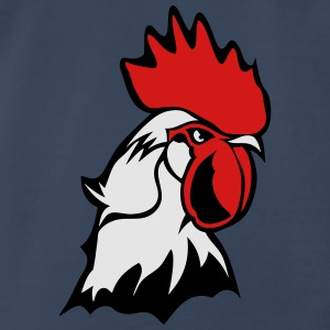 chicken rooster head bascour king Tanks - Men's Premium T-Shirt