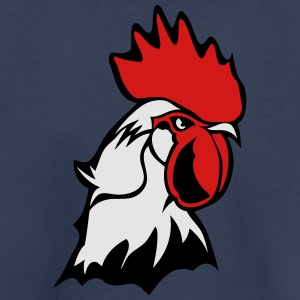 chicken rooster head bascour king Kids' Shirts - Toddler Premium T-Shirt