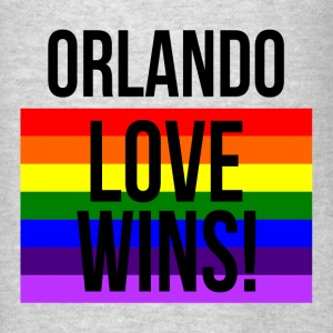 ORLANDO STRONG LOVE WINS! LOVE ALWAYS WINS! Hoodies - Men's T-Shirt