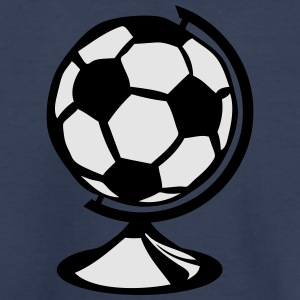 globe soccer ball 0 Kids' Shirts - Toddler Premium T-Shirt