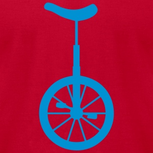 unicycle wheel 10062 Long Sleeve Shirts - Men's T-Shirt by American Apparel