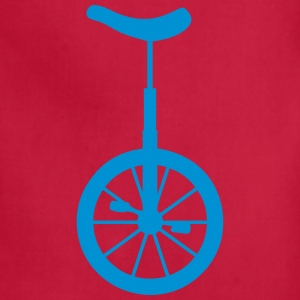 unicycle wheel 10062 T-Shirts - Adjustable Apron