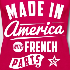 American French T-Shirts - Women's Premium Tank Top